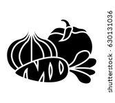 vegetables icon | Shutterstock .eps vector #630131036