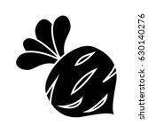radish icon | Shutterstock .eps vector #630140276