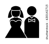 newly wed icon | Shutterstock .eps vector #630142715
