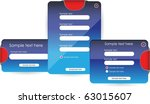 web forms or banners   Shutterstock .eps vector #63015607