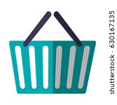 shopping basket icon | Shutterstock .eps vector #630167135
