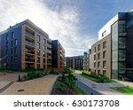 modern european complex of... | Shutterstock . vector #630173708