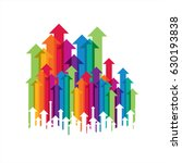 concept of business movement ...   Shutterstock .eps vector #630193838