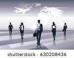 business team silhouette... | Shutterstock .eps vector #630208436