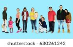 diversity people set gesture... | Shutterstock . vector #630261242