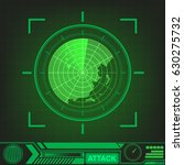 radar screen vector. background ...