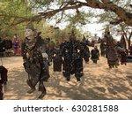 traditional burmese puppets... | Shutterstock . vector #630281588