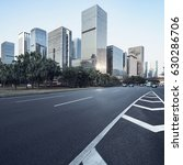 asphalt pavement urban road at...   Shutterstock . vector #630286706