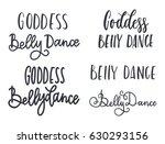 belly dance vector illustration ... | Shutterstock .eps vector #630293156