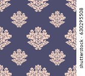 damask seamless pattern... | Shutterstock .eps vector #630295508