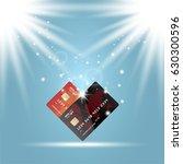 global digital communications.... | Shutterstock .eps vector #630300596