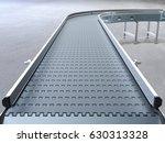 empty conveyor belt 3d rendering | Shutterstock . vector #630313328
