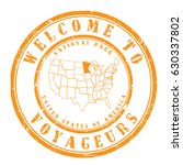 """rubber stamp """"welcome to... 