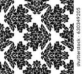 damask seamless pattern...   Shutterstock .eps vector #630349205
