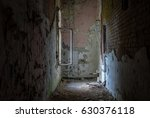 The Old And Ruined Room Of A...