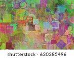 abstract grunge   rough ... | Shutterstock . vector #630385496