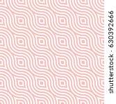 vector wavy pattern. geometric... | Shutterstock .eps vector #630392666