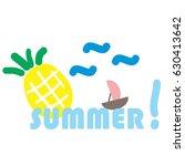 summer | Shutterstock . vector #630413642