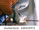 welding work  close up | Shutterstock . vector #630419972