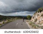 Moutain Climbing Cyclist Male...