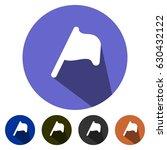 icons map flag for web  mobile... | Shutterstock .eps vector #630432122