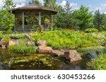 Gazebo In Botanical Gardens