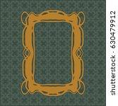 art nouveau elegant smooth...   Shutterstock .eps vector #630479912