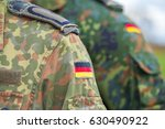 german flag on german army... | Shutterstock . vector #630490922