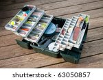 A Large Fisherman's Tackle Box...