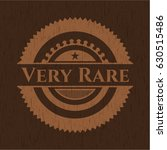 very rare badge with wooden...   Shutterstock .eps vector #630515486