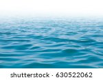 blue sea ocean and blue sky... | Shutterstock . vector #630522062