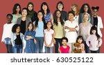 various of diversity women... | Shutterstock . vector #630525122