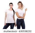 young casual caucasian women... | Shutterstock . vector #630538232