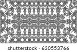 black and white mosaic pattern... | Shutterstock . vector #630553766