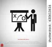 flat vector icon  vector best... | Shutterstock .eps vector #630613616