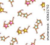 color star glasses. vector... | Shutterstock .eps vector #630621752