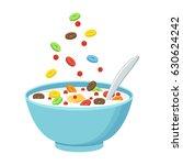 vector illustration. cereal... | Shutterstock .eps vector #630624242