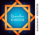 ramadan kareem. arabian...   Shutterstock .eps vector #630625136