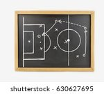 graphic a tactics of soccer... | Shutterstock . vector #630627695