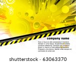 abstract background for banner... | Shutterstock .eps vector #63063370