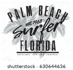 surf t shirt graphic | Shutterstock .eps vector #630644636