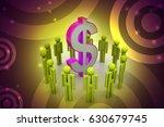 3d illustration of people... | Shutterstock . vector #630679745