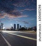 urban roads in the city | Shutterstock . vector #630685298
