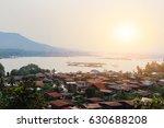 Sunrise At Khongjiam Town Ubon...