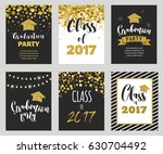graduation class of 2017  party ... | Shutterstock .eps vector #630704492