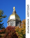 The Notre Dame Golden Dome In...