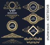 vintage background flyer style... | Shutterstock .eps vector #630730148