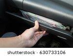 glove compartment.   Shutterstock . vector #630733106