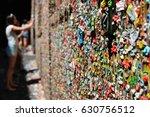 gum wall seattle | Shutterstock . vector #630756512