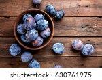 plums | Shutterstock . vector #630761975